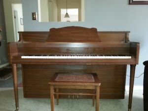 Reduced to $450 from $750.00.  Piano (apartment size)