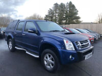 2009 59 Isuzu Rodeo 2.5TD 4WD Denver Max **NO VAT - Rear Canopy**