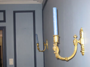 Ancienne applique ( bougie) - vintage brass wall sconce (candle)