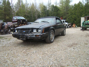 1983 5.0 5 Speed Mustang Convertible Project