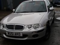 Rover 25D (shabby chic edition)