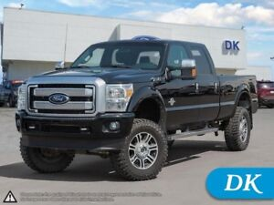 2016 Ford F-350 Super Duty Platinum 4WD Diesel, Fully Loaded w/L