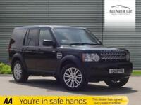 2013 63 LAND ROVER DISCOVERY 3.0 4 SDV6 COMMERCIAL 1D AUTO 255 BHP DIESEL