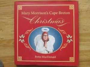 MARY MORRISON'S CAPE BRETON CHRISTMAS by Bette MacDonald - 2014