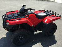 2014 HONDA TRX 420 FOURTRAX ( FINANCING AVAILABLE )