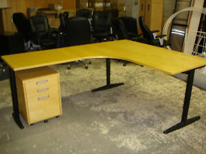 Solid Heavy Duty Metal Frame Desk $225. Delivery Available.