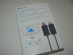 Surface V2 Wireless Display Adaptor HDMI Mint condition in box