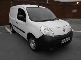 (60) 2010 Renault Kangoo 1.5TD ML20 dCi 5 Door White Sat/Nav