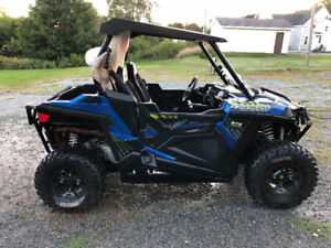 2017 RZR 900 Trail EPS with Trailer