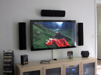 Installation for flat panel TV $50 wall mounting any LCD, LED