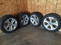 BMW winters tires and rims