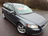 2008 VOLVO V50 2.0 DIESEL SE - MOT JAN 2019, 1 FORMER KEEPER, 6 SPEED, 6 STAMPS!