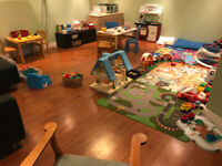 Daycare spots available