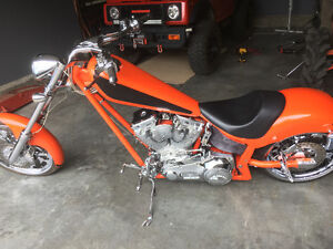 Absolutely mint 2007 ironhorse chopper for sale