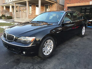 2007 BMW 7-Series Sedan 760 LI 6.0 V12 only 123000 km