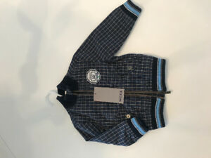 Fall/spring jacket 6-9 months BRAND NEW