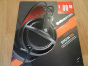 Steelseries Siberia 200 Headset - Never been used. $60 obo.
