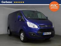 2014 FORD TRANSIT CUSTOM 2.2 TDCi 125ps 270 L1 Low Roof Limited Van