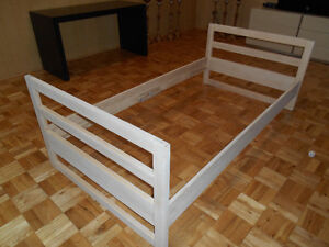 Twin Maple Bed Frame