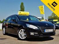 2012 PEUGEOT 508 1.6 HDI SW ACTIVE 112 BHP+P/X WELCOME+1 OWNER+FULL PANROOF+AUX!