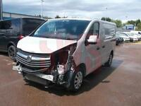 2014 Vauxhall Vivaro 1.6CDTi Sportive 2700 L1H1 DAMAGED REPAIRABLE SALVAGE