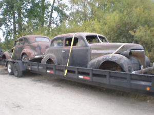 Empty 2 car trailer going to London / Toronto area from Manitoba
