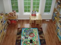 MONTESSORI CHILDCARE AVAILABLE IN MY NE WOODSTOCK HOME