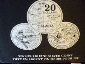 20 FOR 20 SILVER COIN SET Kitchener / Waterloo Kitchener Area image 7