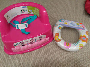 Minnie Mouse Booster/Toilet seat