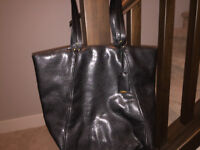 Calvin Klein authentic all leather bag