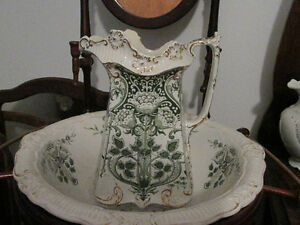 Antique Pitcher and Basin with Stand London Ontario image 3