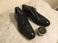 Loake 806B Men's Black Formal Shoes - Size 8.5 - Worn Once - Free Polish