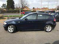 BMW 118 118d SE (blue) 2007