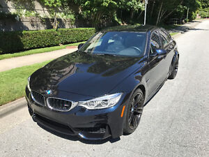 2015 BMW M3 Azurite Black + Silverstone Leather *15,500kms