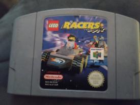 N64 Lego Racers game