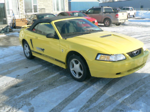 Ford Mustang convertible 2002