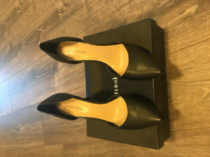 Brand new town shoes heels, Black