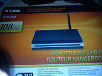 d-link rangbooster g router