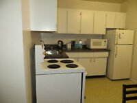 1-BR sublet available on July 1, 1/2 blk off from Portage Ave