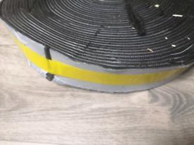 Intermittent fire tape 4mm Gauge 60mm Width Complete Roll Fire Tape