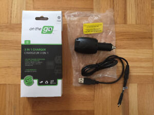 On the Go - 3 in 1 Universal Charger
