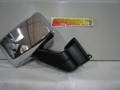 2006-2007 HUMMER H3 CHROME PASSENGER SIDE POWER MIRROR NEW GM # 15884837