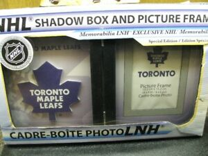 NEW Toronto Maple Leafs Shadowbox/Frame