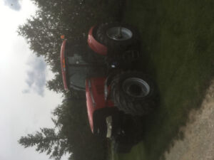 Puma 170cvt 50k with front axle suspension and cab suspension