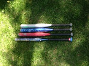 "Softball Bats, 2.25"" Diameter"