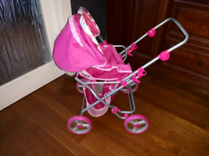 Toy Stroller-beautiful Pink/Red $55 OBO