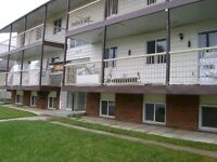 2 bedroom suite in 12-plex secured building. Innisfail