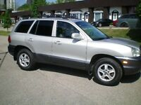 2004 Hyundai Santa Fe Cert. and Etested