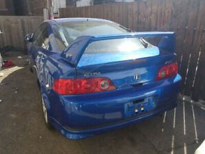 2005 ACURA RSX BLUE SAFETY AND E-TESTED