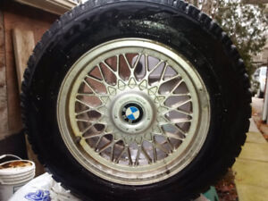 BMW Rims TOYO OBSERVE GSI-5 Snow Tires